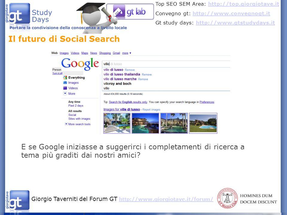 Il futuro di Social Search