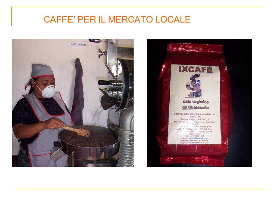 CAFFE' PER IL MERCATO LOCALE