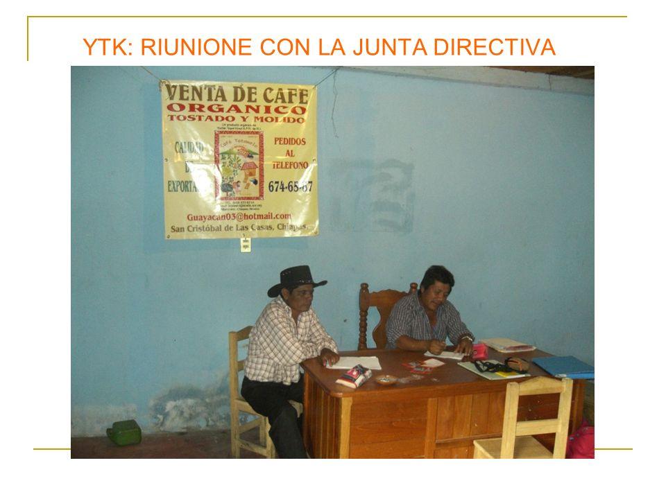 YTK: RIUNIONE CON LA JUNTA DIRECTIVA
