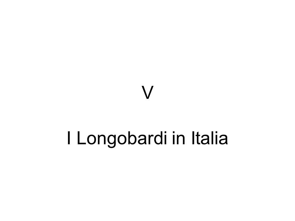 V I Longobardi in Italia