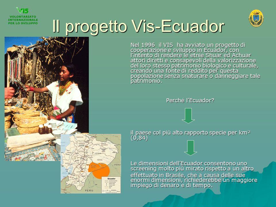Il progetto Vis-Ecuador