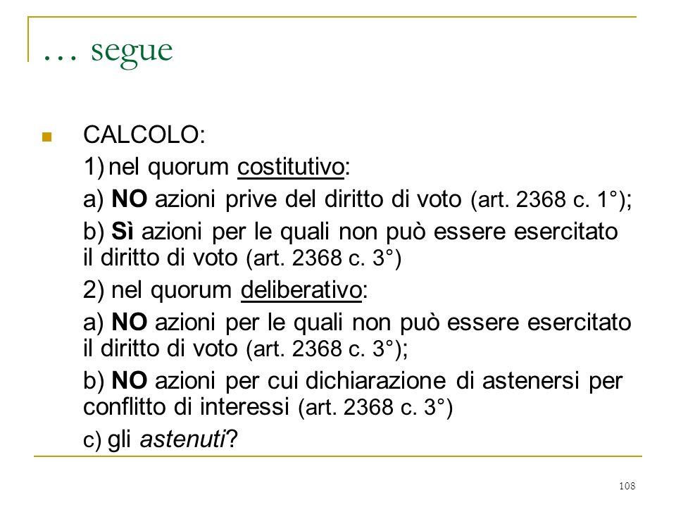 metodo collegiale convocazione costituzione ( quorum costitutivo)