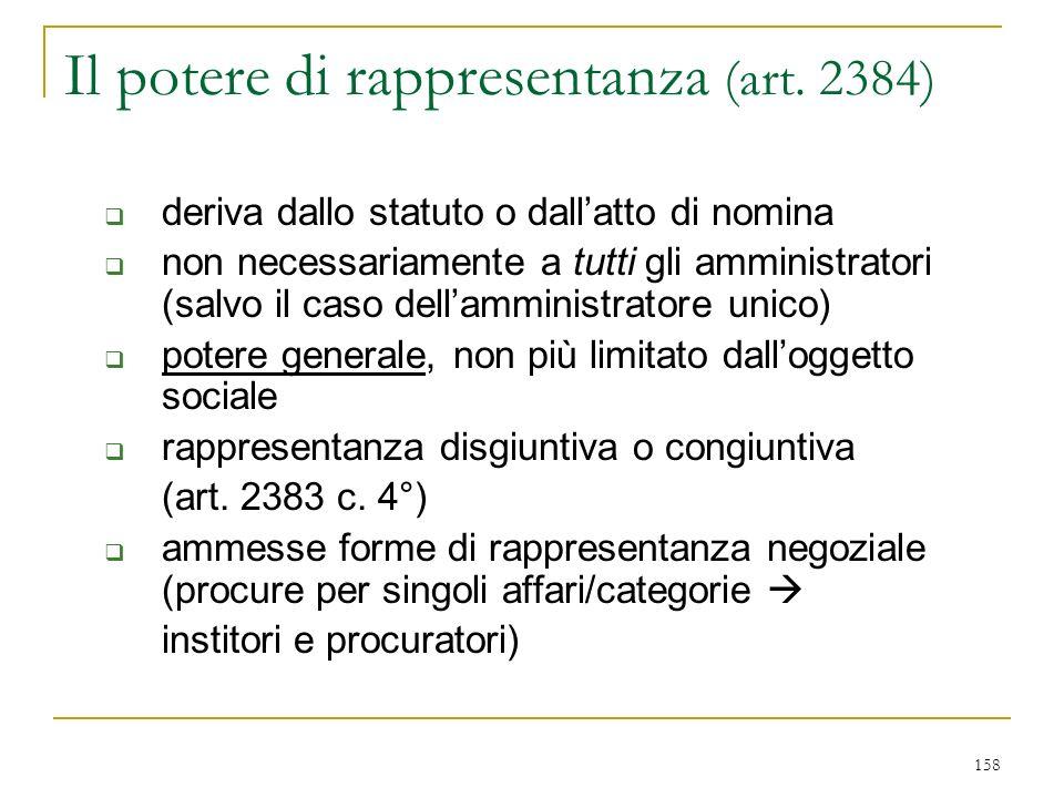 1) attribuzioni non delegabili (art. 2381 c. 4°)