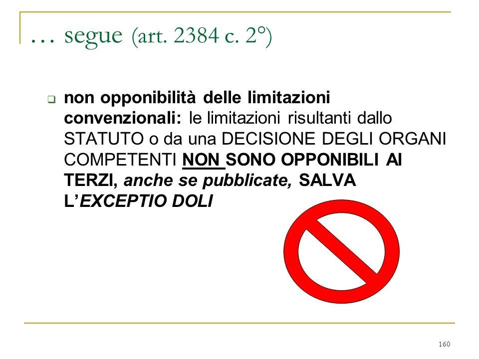… segue (art. 2381 c. 5° e c. 6°) ampia circolazione di INFORMAZIONI sulla gestione.