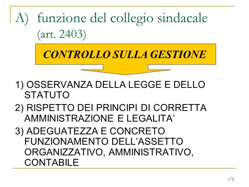 2) VERSO I CREDITORI SOCIALI - art. 2394