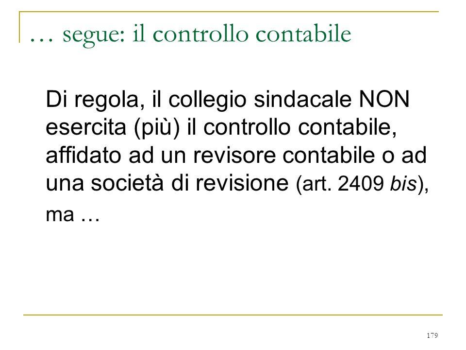… segue Legittimati attivi: creditori sociali e organi di procedure concorsuali ex art. 2394 bis. termine di prescrizione: 5 anni (art. 2949 c. 2°)