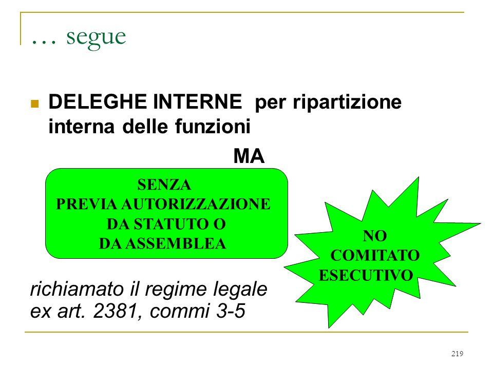 IL CONSIGLIO DI GESTIONE (art. 2409 novies)