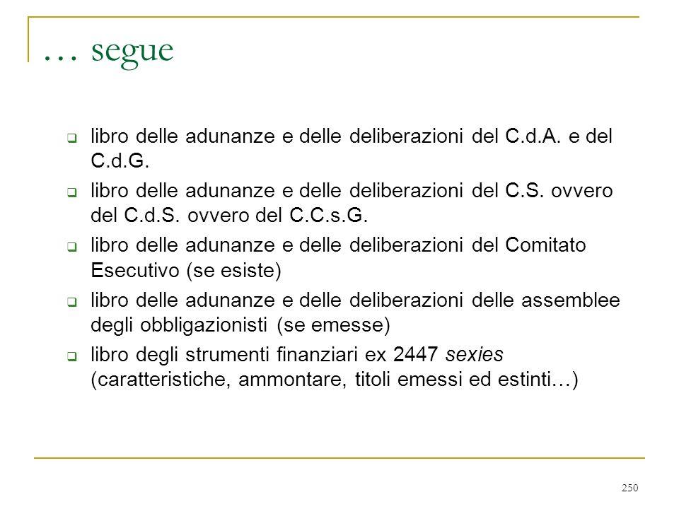 … problemi 2409-XVII, 1° co. (gestione esclusiva dell'impresa al C.d.A.) MA.