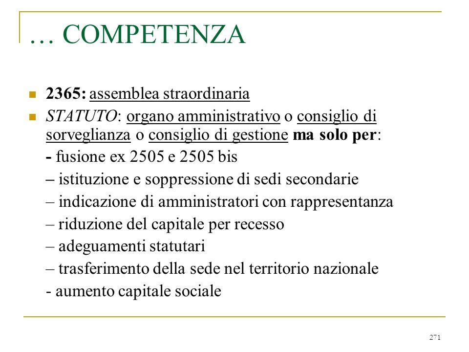 … area e principi di consolidamento