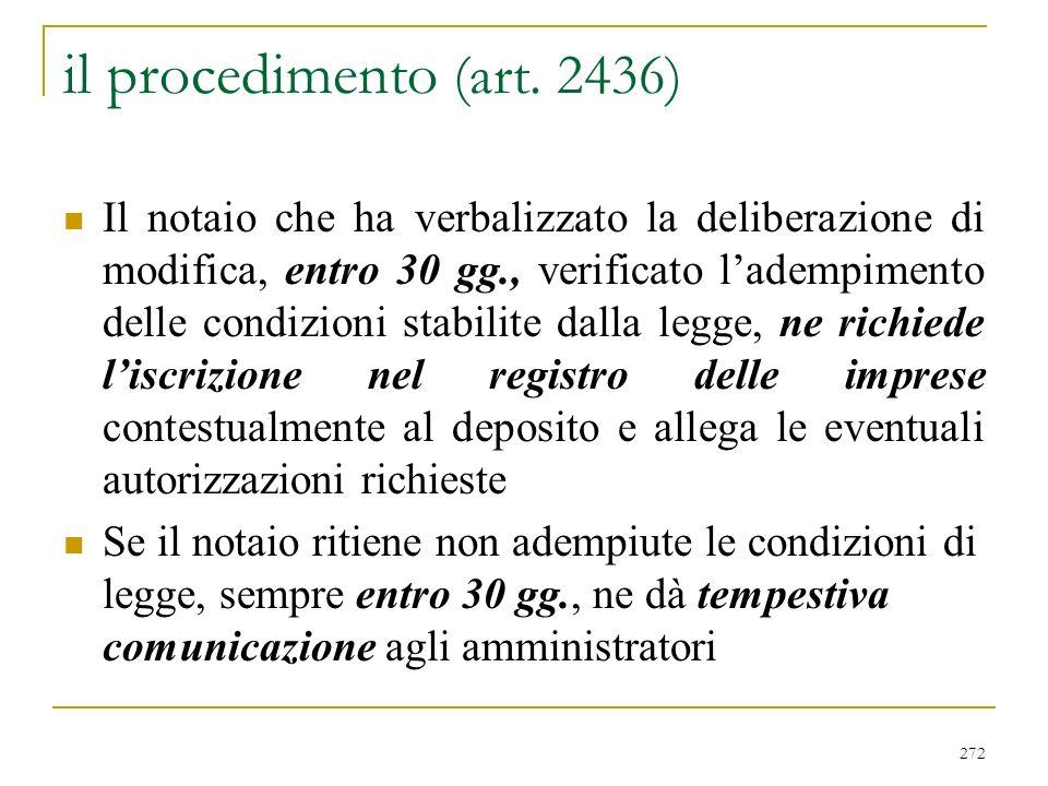 … segue Nozione speciale di controllo: art. 26