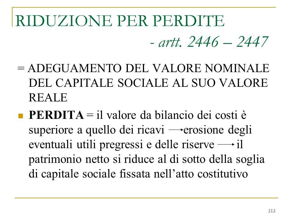 2) Aumento nominale o gratuito - art. 2442
