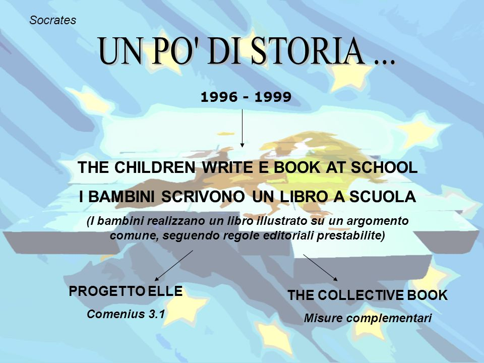 UN PO DI STORIA ... THE CHILDREN WRITE E BOOK AT SCHOOL