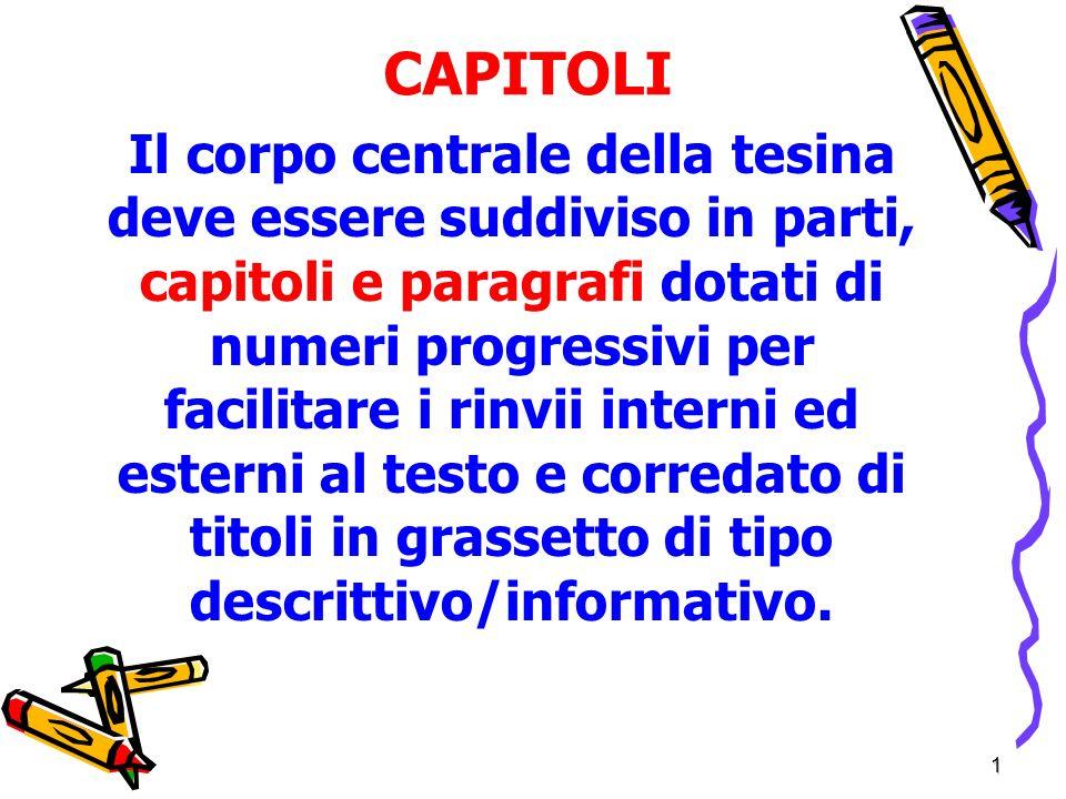 CAPITOLI