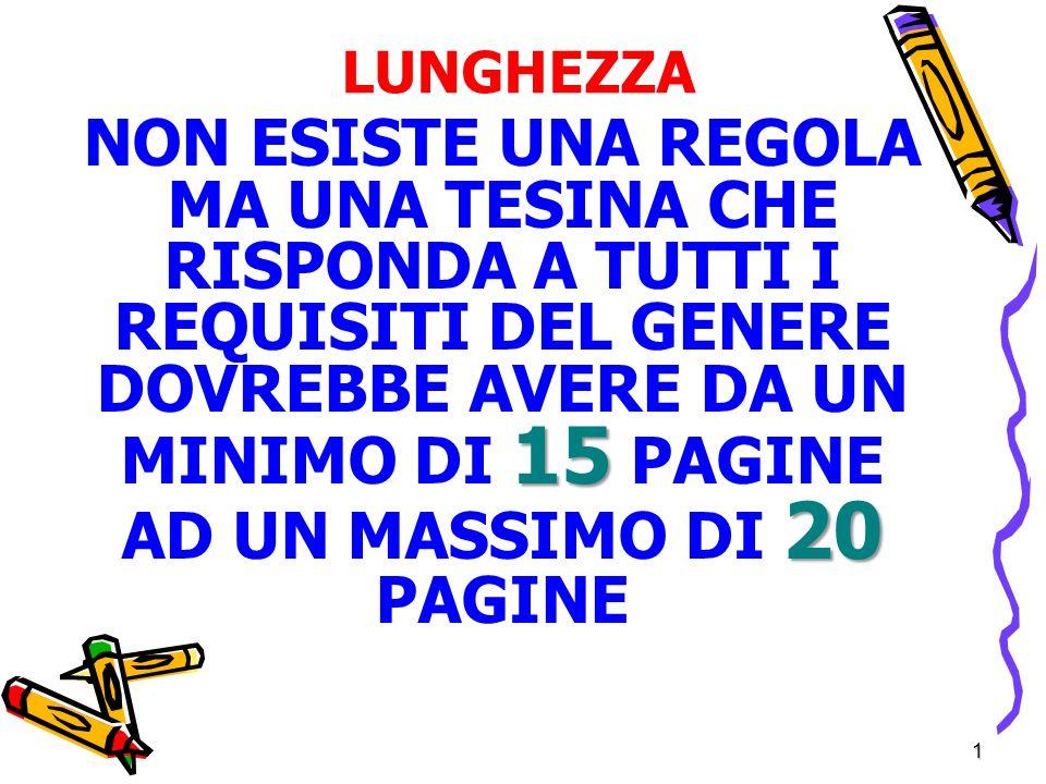 LUNGHEZZA