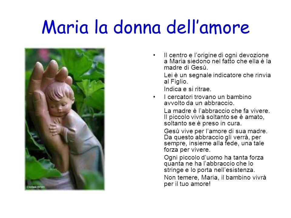 Maria la donna dell'amore