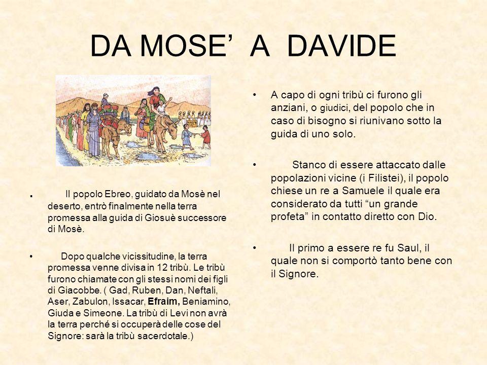 DA MOSE' A DAVIDE