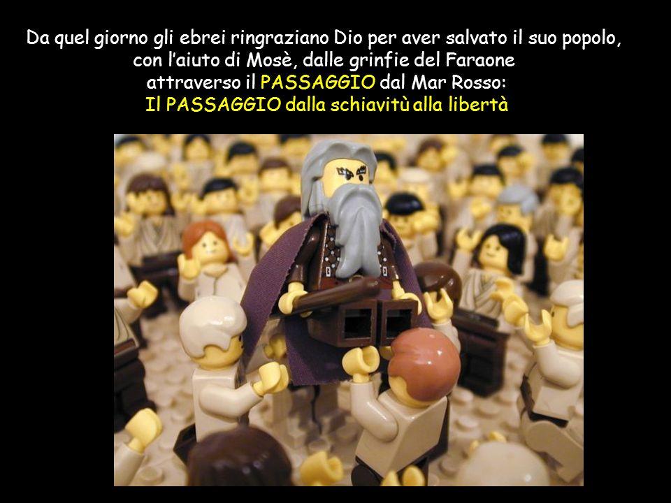con l'aiuto di Mosè, dalle grinfie del Faraone