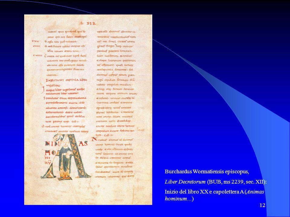 Burchardus Wormatiensis episcopus,