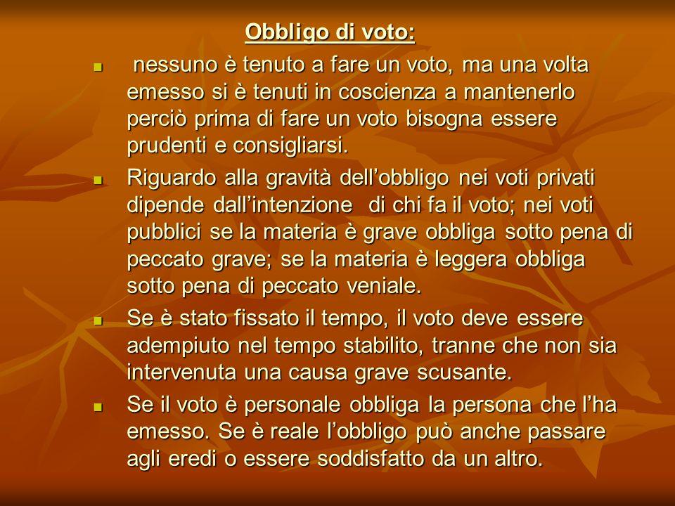 Obbligo di voto:
