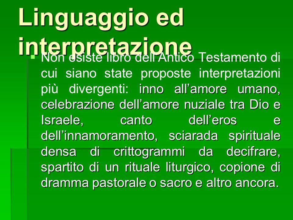 Linguaggio ed interpretazione
