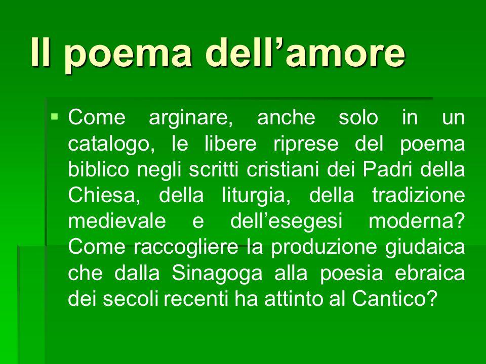 Il poema dell'amore