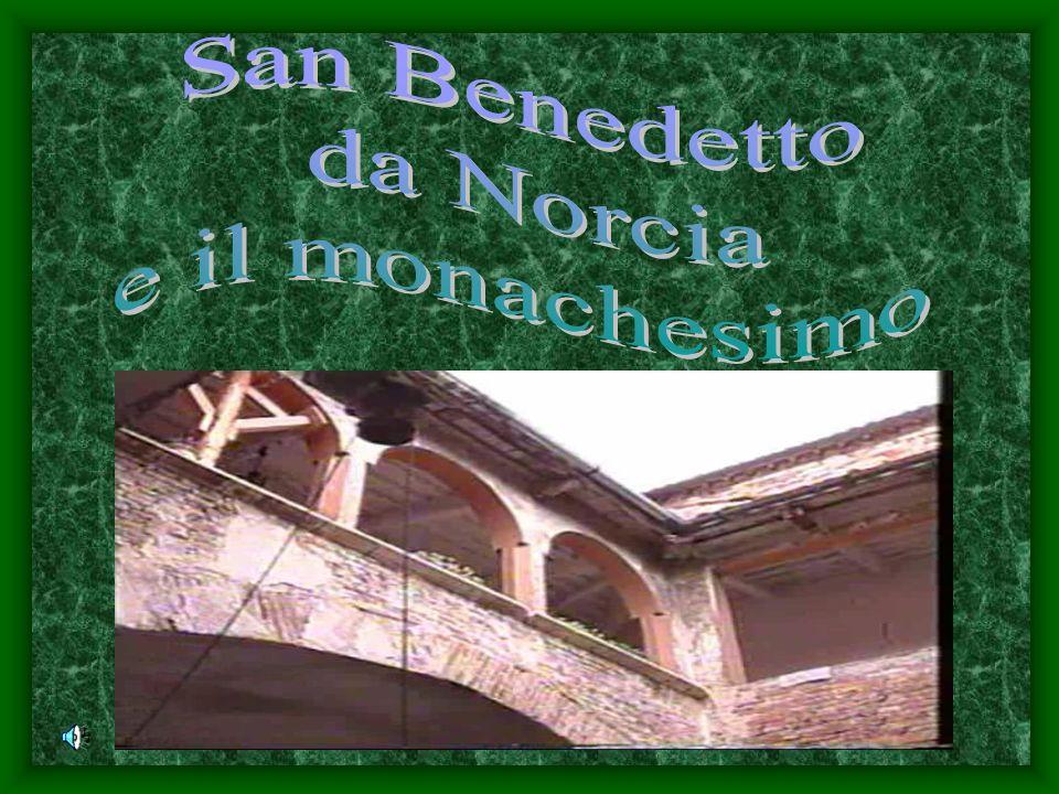 San Benedetto da Norcia e il monachesimo