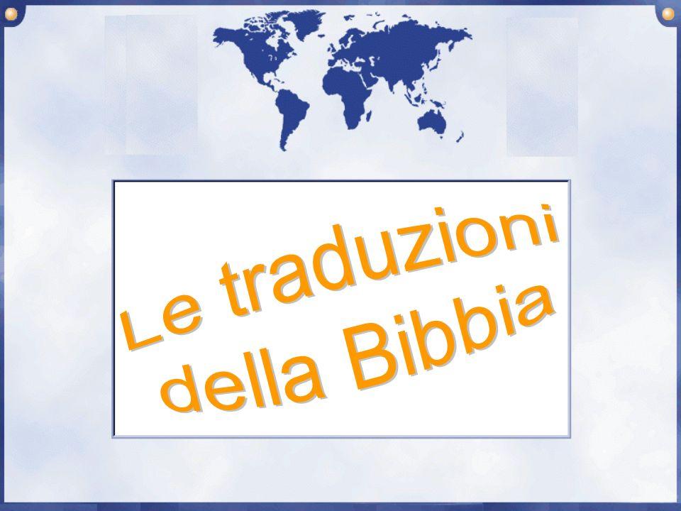 Le traduzioni della Bibbia