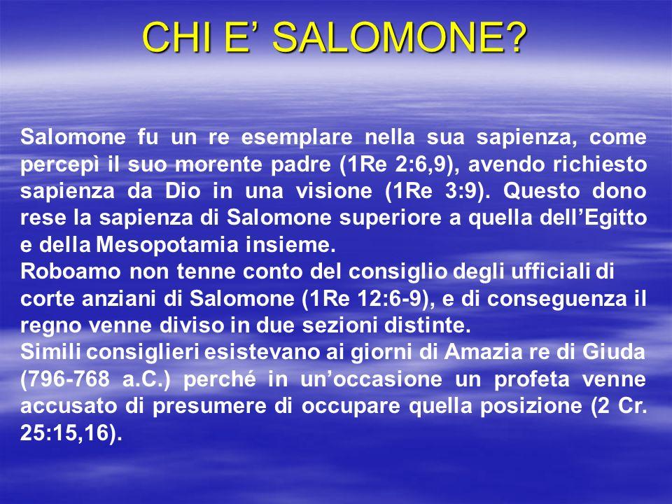 CHI E' SALOMONE