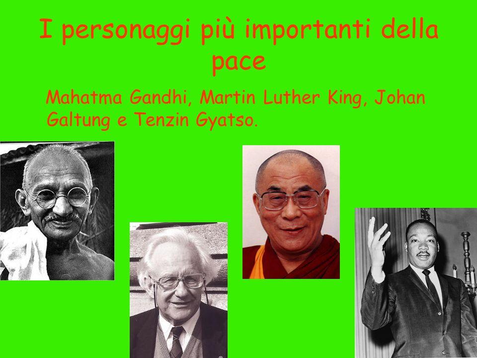 I personaggi più importanti della pace