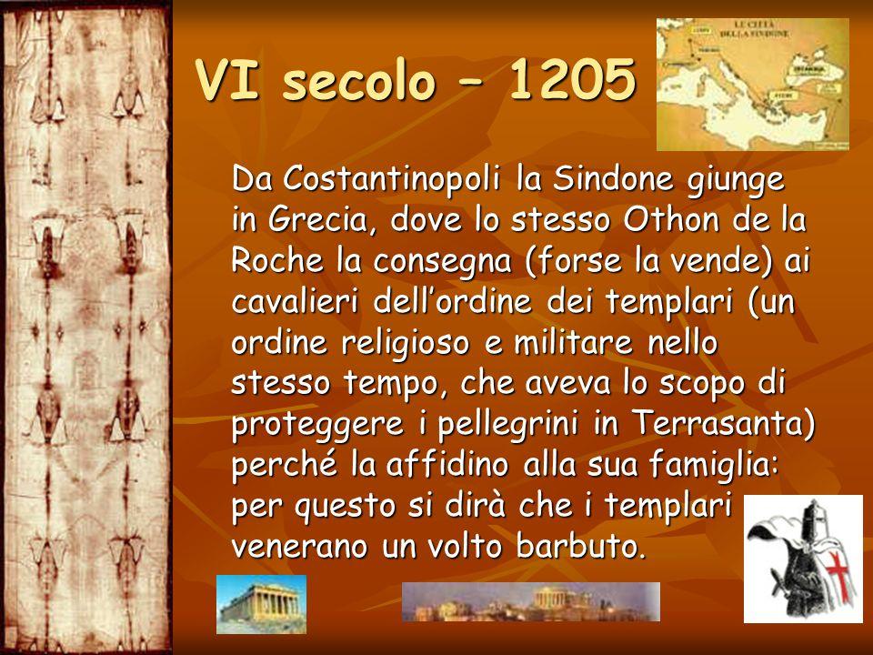 VI secolo – 1205