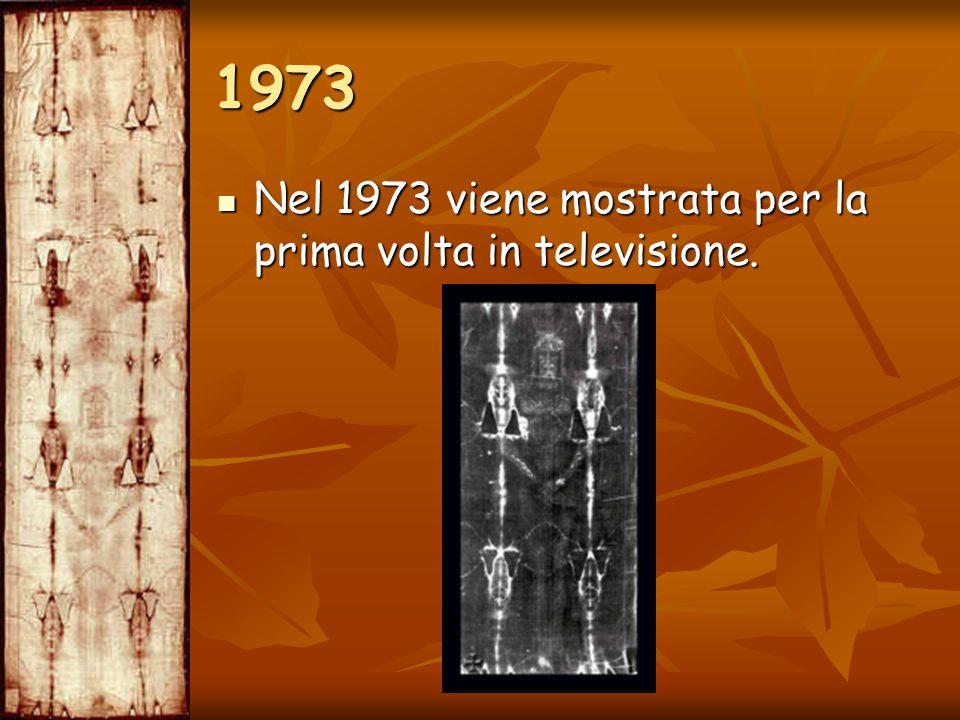 1973 Nel 1973 viene mostrata per la prima volta in televisione.
