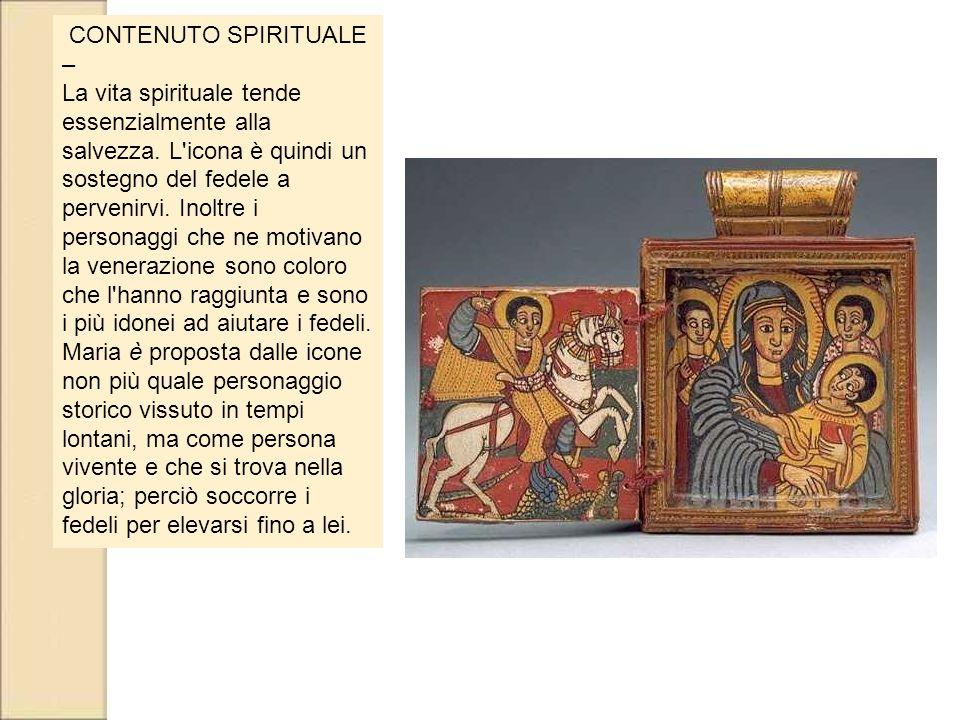CONTENUTO SPIRITUALE –
