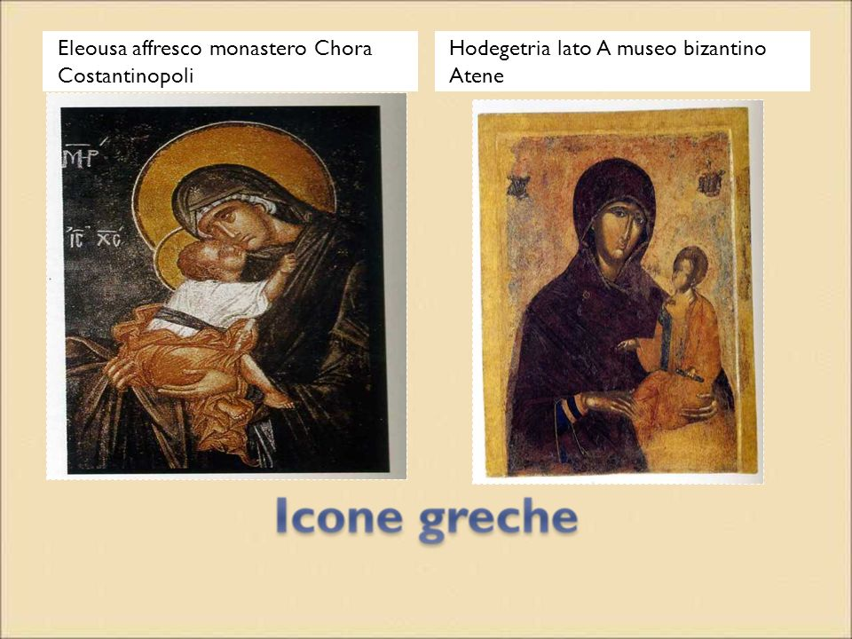 Eleousa affresco monastero Chora Costantinopoli
