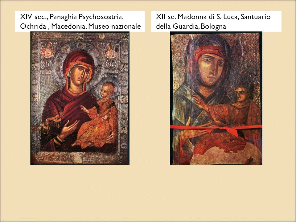 XIV sec., Panaghia Psychosostria, Ochrida , Macedonia, Museo nazionale