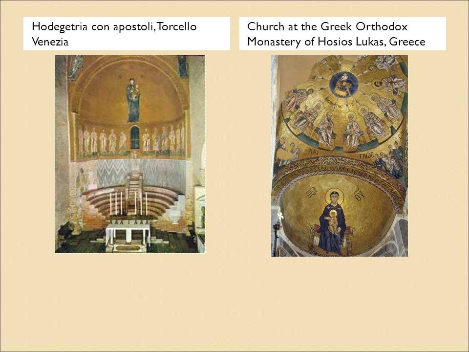 Hodegetria con apostoli, Torcello Venezia