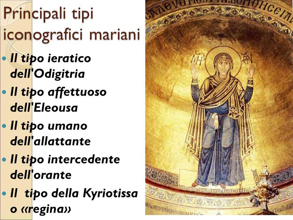 Principali tipi iconografici mariani