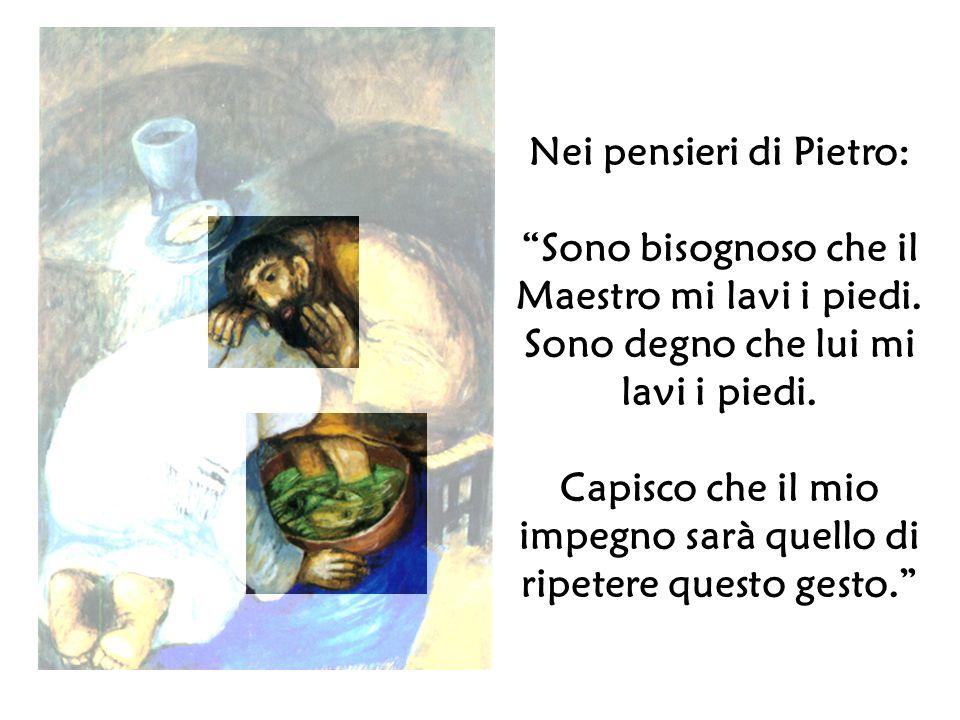 Nei pensieri di Pietro: