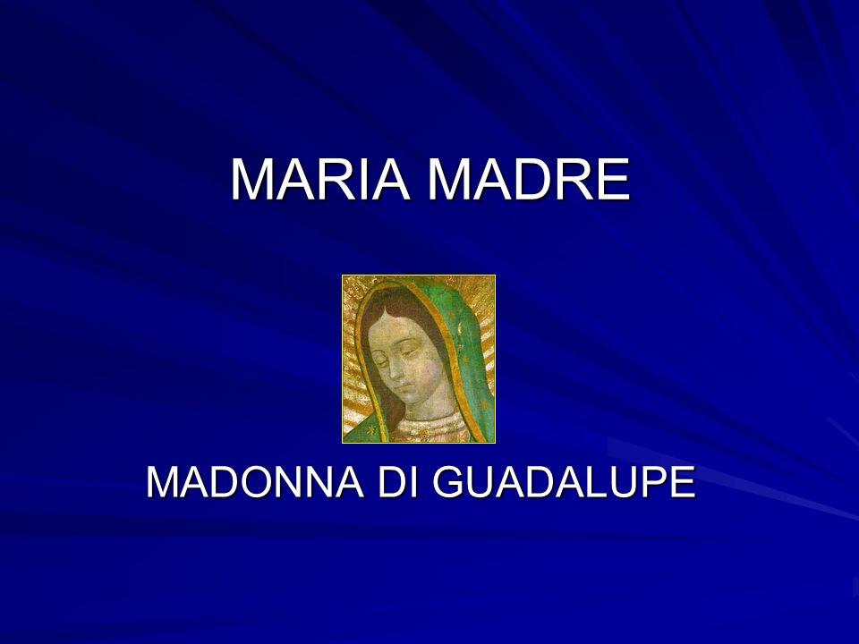 MARIA MADRE MADONNA DI GUADALUPE