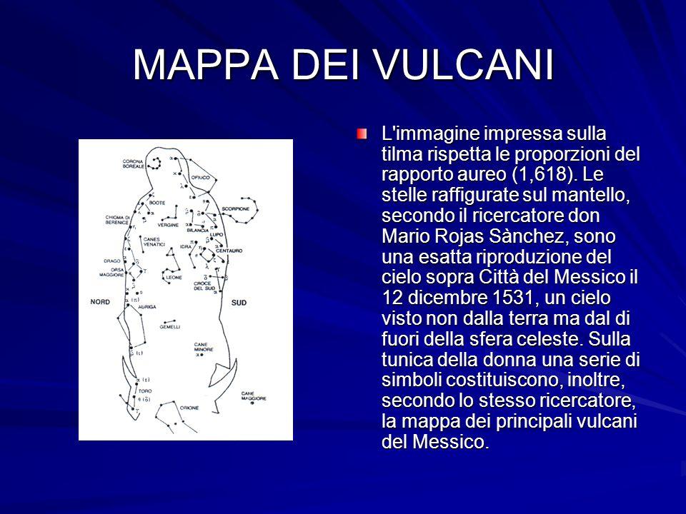 MAPPA DEI VULCANI