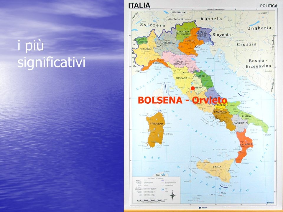 i più significativi BOLSENA - Orvieto