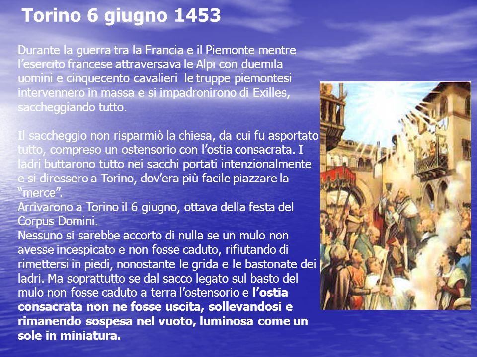 Torino 6 giugno 1453