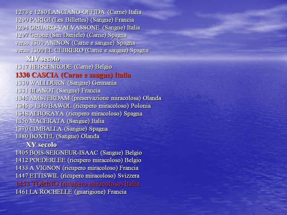 1330 CASCIA (Carne e sangue) Italia