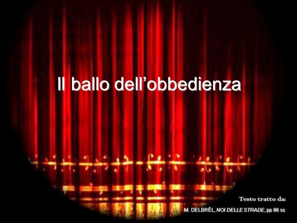 Il ballo dell'obbedienza