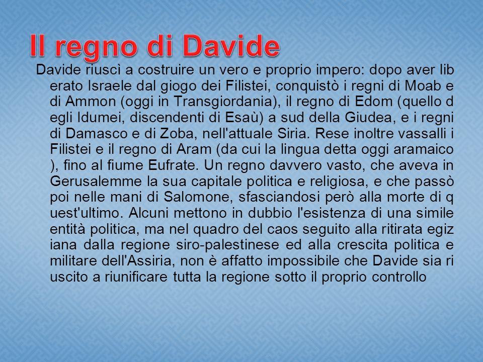 Il regno di Davide