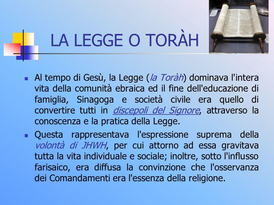 LA LEGGE O TORÀH