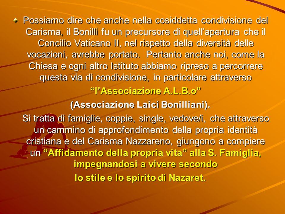 l'Associazione A.L.B.o (Associazione Laici Bonilliani).