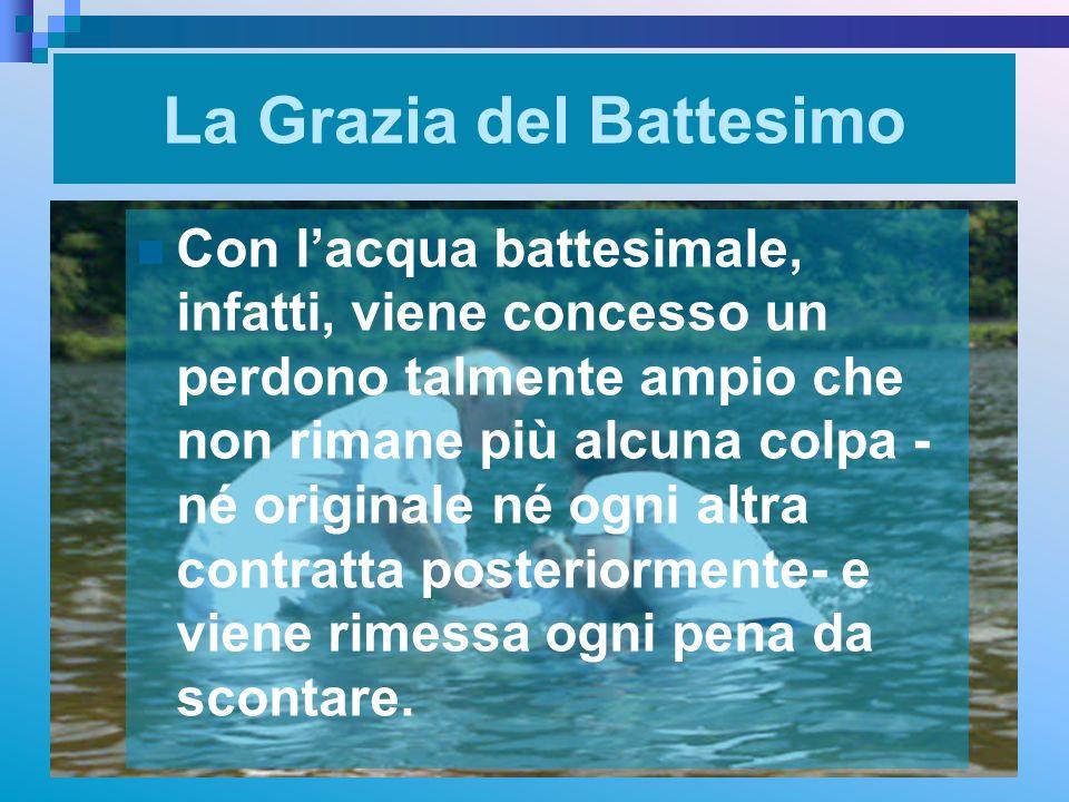 La Grazia del Battesimo