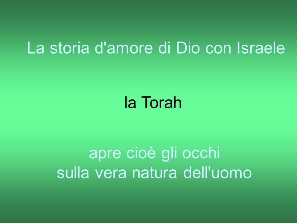 La storia d amore di Dio con Israele