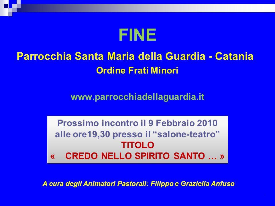 FINE Parrocchia Santa Maria della Guardia - Catania