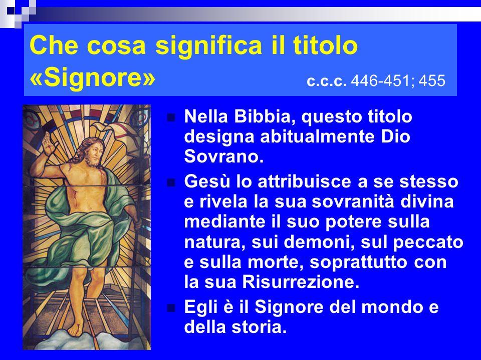 Che cosa significa il titolo «Signore» c.c.c. 446-451; 455